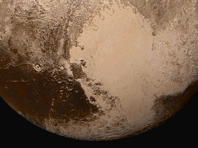 Pluto May Have a Wandering Heart