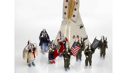 This Artwork Recognizes the Sacrifices Made by Native American Soldiers in Vietnam