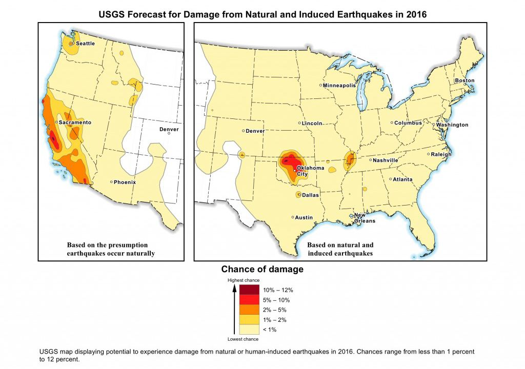 New usgs map shows man made earthquakes are on the rise smart news new usgs map shows man made earthquakes are on the rise smart news smithsonian gumiabroncs Choice Image
