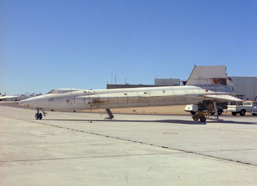 Forty years later, the experimental airplane's speed record still stands.