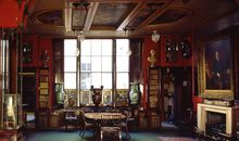 Library dining room of the Sir John Soane Museum