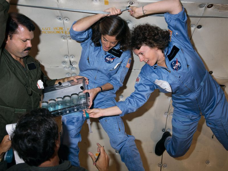 "Astronauts teach ""lost lessons"" to honor Challenger Shuttle astronaut, Christa McAuliffe"