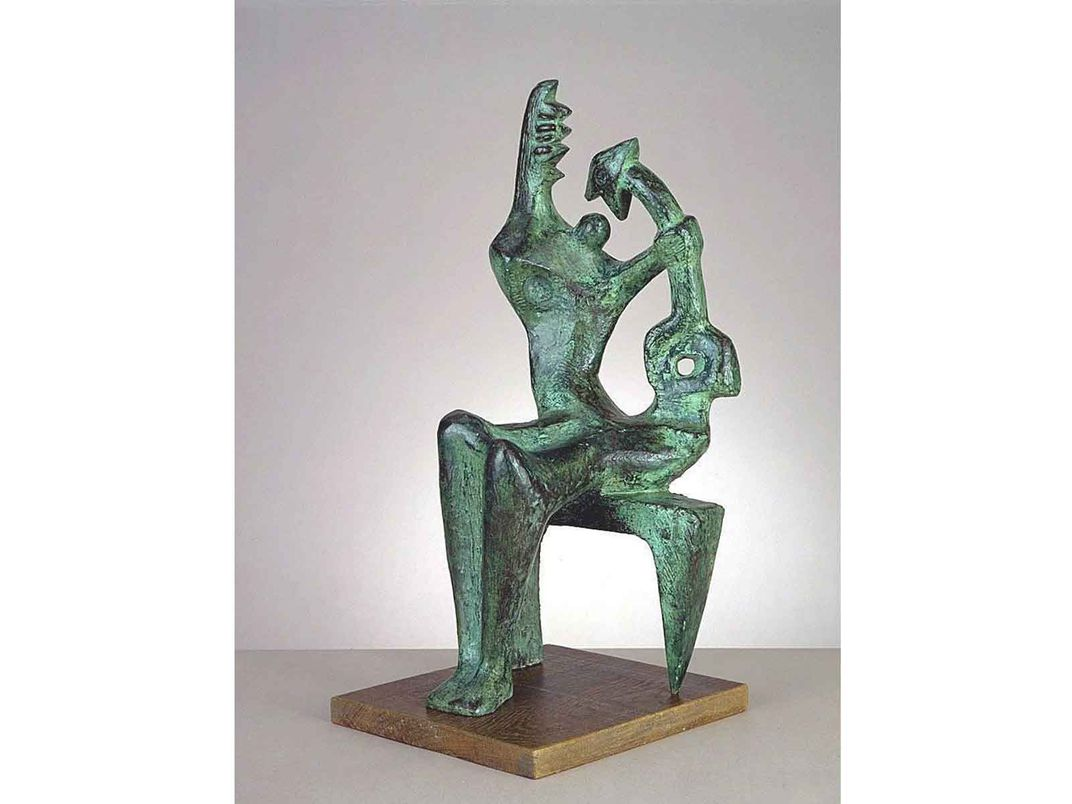 Mother and Child, Henry Moore
