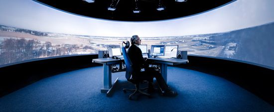 The r-TWR remote air traffic control center