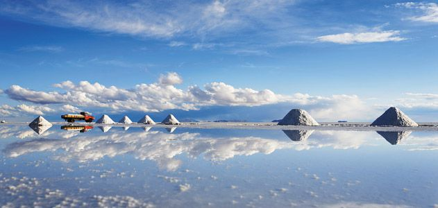 worlds largest salt flats