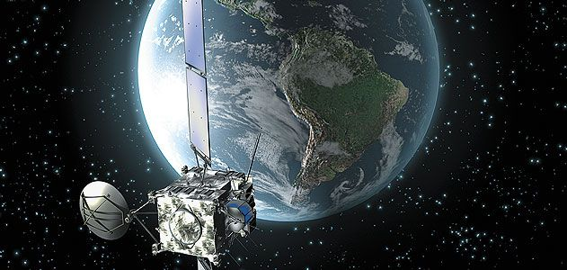 Europe's Rosetta spacecraft flew past Earth three times, but experienced the flyby effect only once. Nobody knows why.