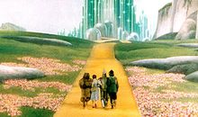 The Wizard of Oz Yellow Brick Road