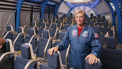 Your Space Shuttle Ride Awaits