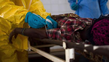There's a Black Market in Africa for Ebola Survivors' Blood