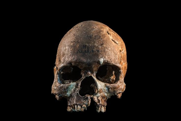 An 8,000-year-old skull found in Gua Cha, Malaysia, provided DNA used in the study (Fabio Lahr) Read more: https://www.smithsonianmag.com/smart-news/dna-analysis-suggests-contemporary-southeast-asians-derive-ancestry-four-ancient-population-180969603/#PsyUyiUpYydRWTet.99 Give the gift of Smithsonian magazine for only $12! http://bit.ly/1cGUiGv Follow us: @SmithsonianMag on Twitter