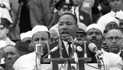 "Image: Martin Luther King's 1st ""I Have a Dream"" speech"