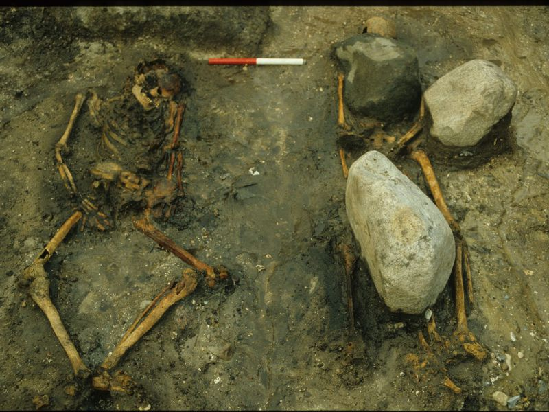 Gerdrup grave excavation