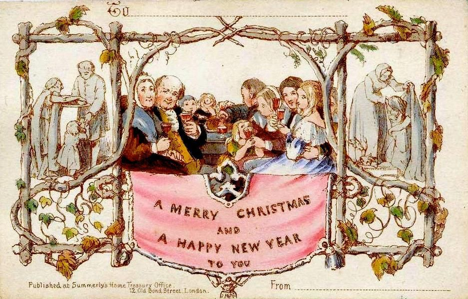 the history of the christmas card history smithsonian magazine the history of the christmas card