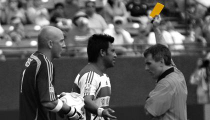 Who Invented the Yellow Card?