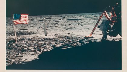 You Could Own the First Space Selfie, Only Photo of Neil Armstrong on the Moon