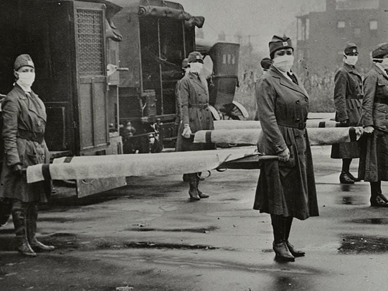 More women than men were left standing after the war and pandemic.