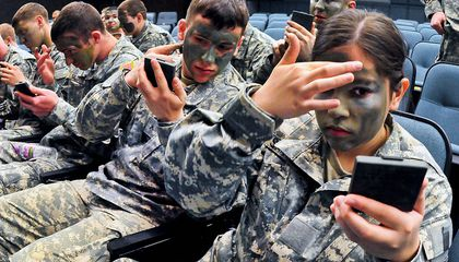 New Camouflage Makeup Protects Soldiers From Bomb Burns