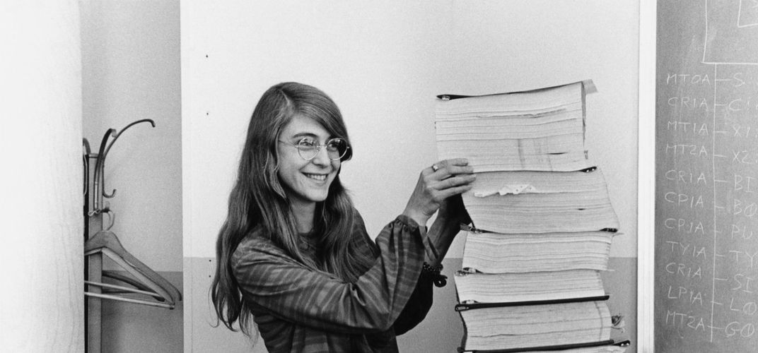 Caption: Margaret Hamilton, Another Hidden Figure