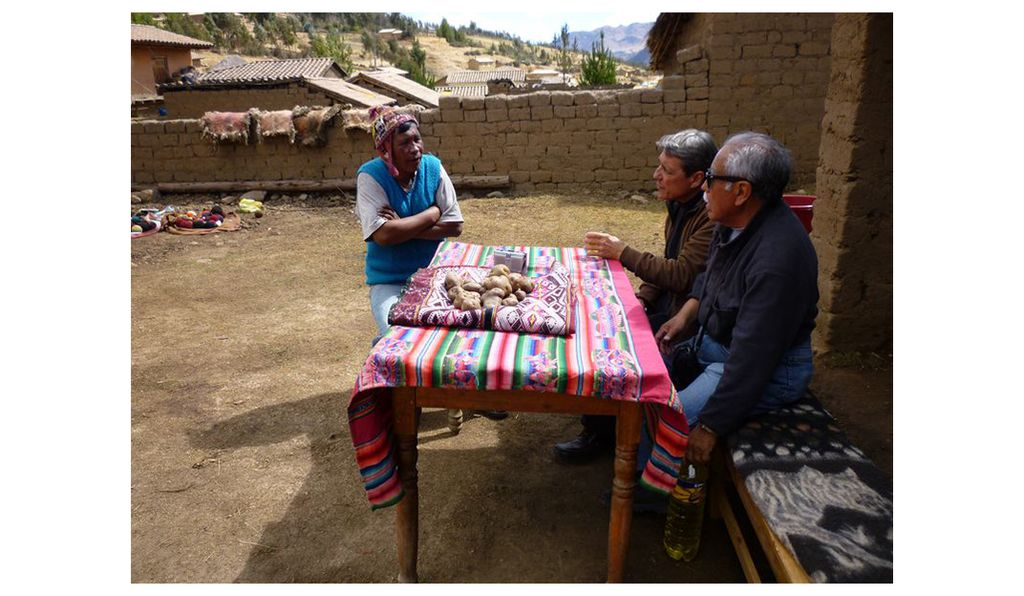 For the past seven years, Ramiro Matos (above, right) and his colleagues have traveled throughout the six South American countries where the road runs, compiling an unprecedented ethnography and oral history.