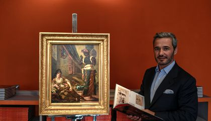 Lost Version of Delacroix Masterpiece Goes on View After Being Found in Paris Apartment