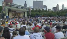 The first Chicago Blues Festival