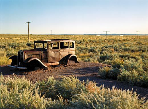 taking the great american roadtrip travel smithsonian long term parking a 1932 studebaker placed near the old roadbed of route 66 in arizona recalls the highway s glory days deirdre brennan redux