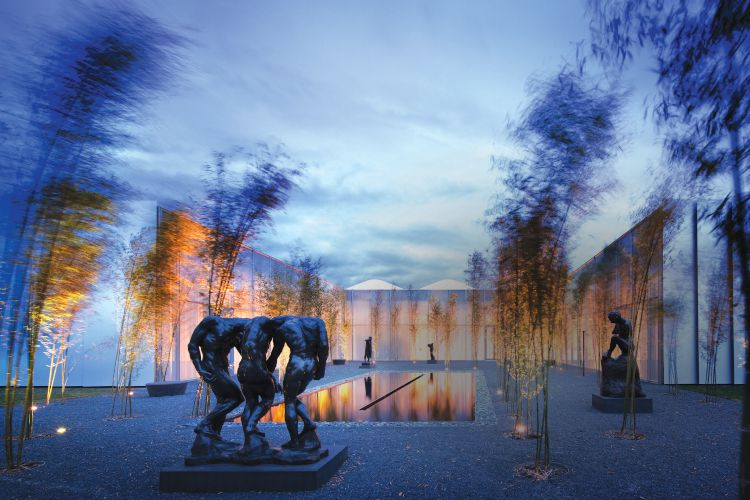 Outdoor at the North Carolina Museum of Art in Raleigh, N.C.
