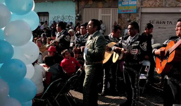 Preview thumbnail for video'The Mariachis of Puebla