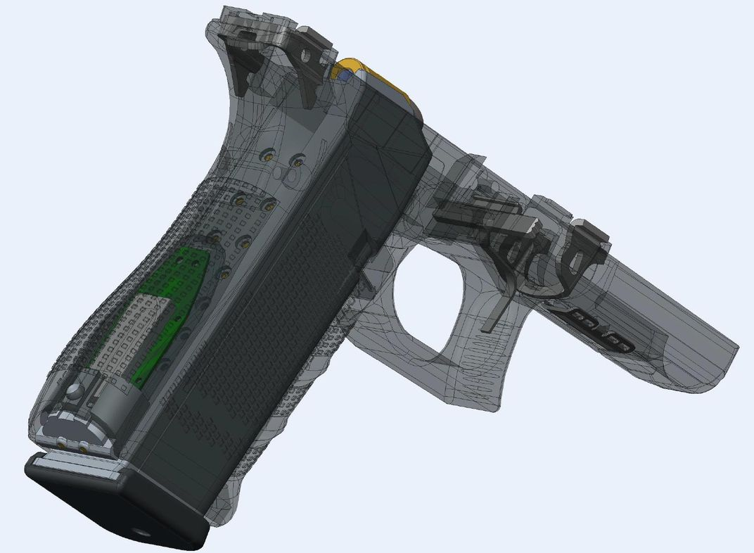 Yardarm Sensor in Glock