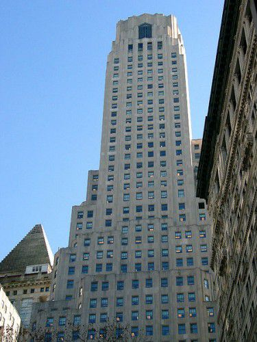 The Irving Trust building at 1 Wall Street