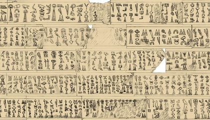 "Scholar Deciphers 3,200-Year-Old Inscription That Could Shed Light on the ""Sea People"""