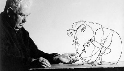 Meet Another Side of Alexander Calder at the Portrait Gallery
