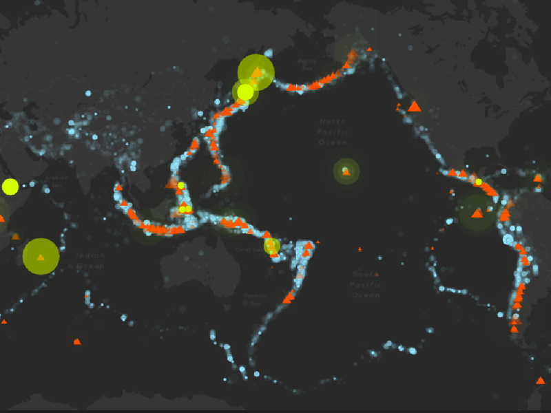 How Earthquakes and Volcanoes Reveal the Beating Heart of
