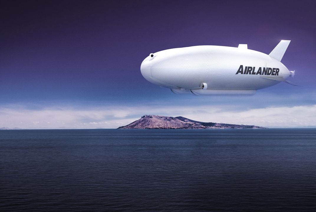 An airship the size of a football field could for Helicoptere interieur