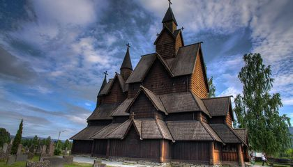 Norway's Medieval Wooden Churches Look Plucked From a Fairy Tale