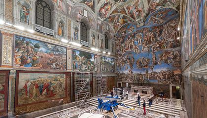For One Week Only, Raphael's Tapestries Return to the Sistine Chapel
