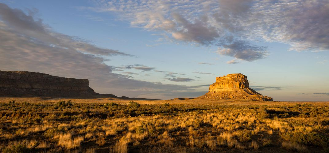 Fajada Butte, Chaco Canyon