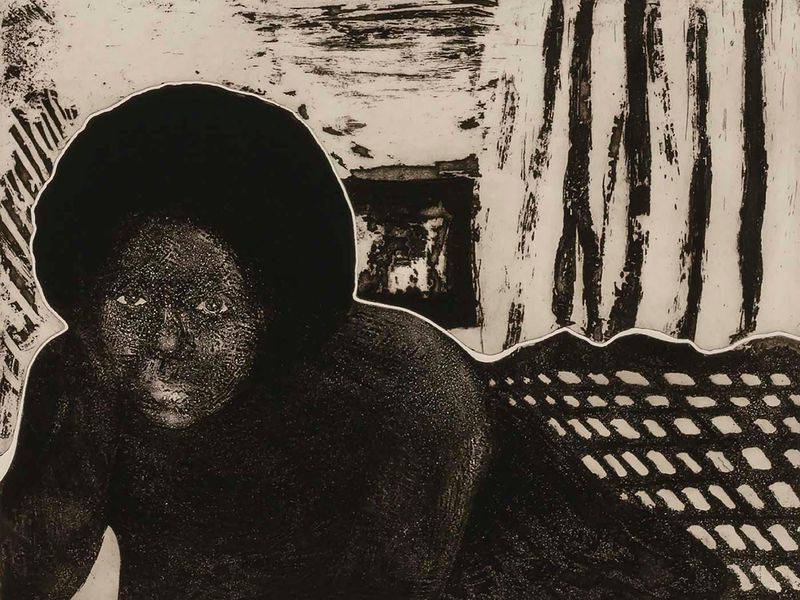 For emma amos an african american artist working in the 1970s the personal was often political