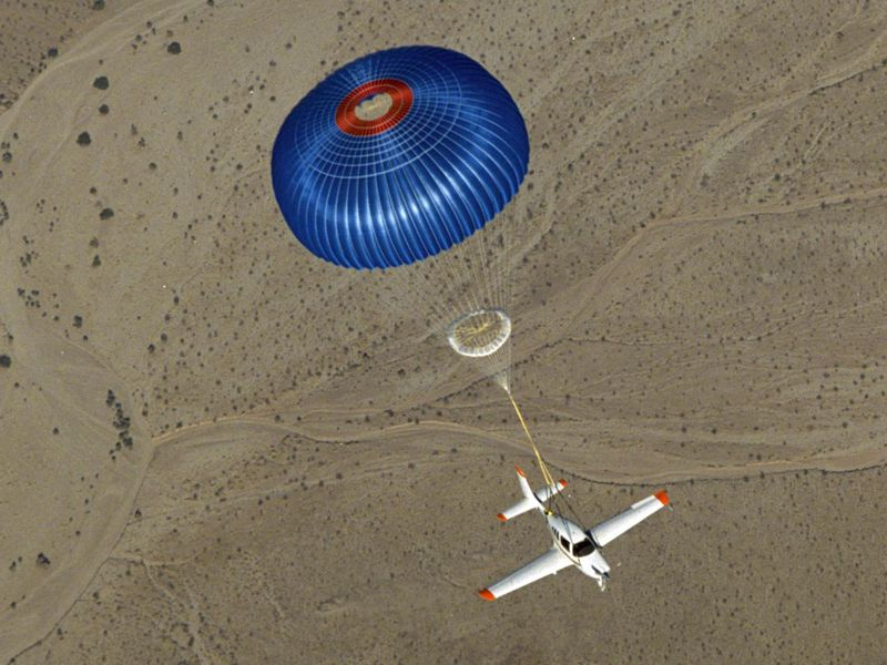 Those Parachutes for Small Airplanes Really Do Save Lives