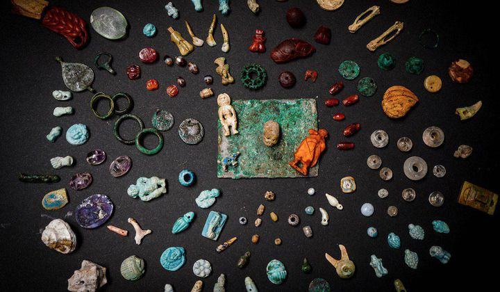 A Sorceress's Kit Was Discovered in Pompeii
