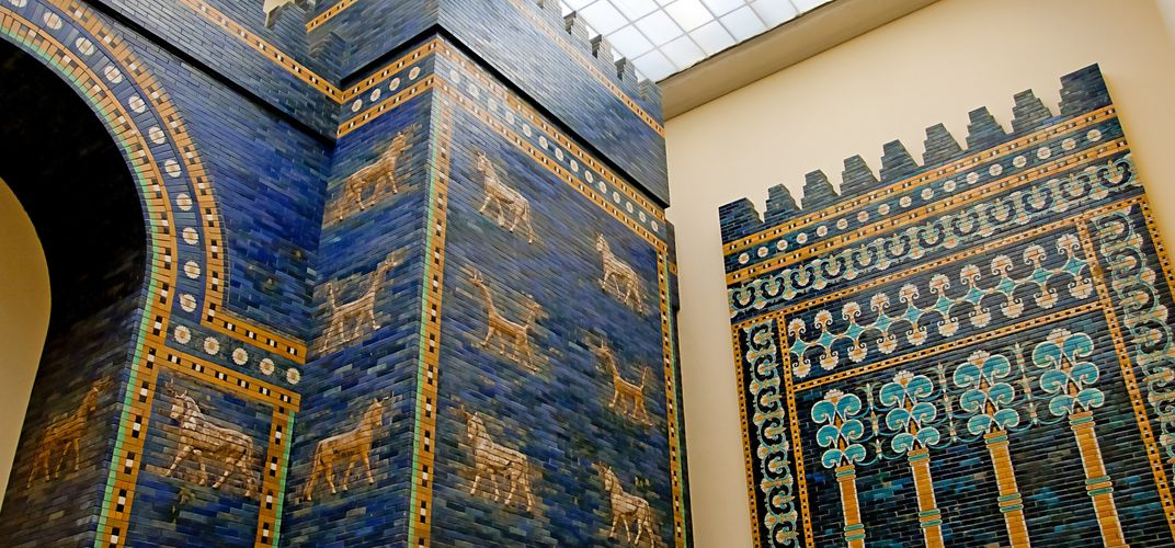 The Ishtar Gate at the Pergamon Museum, Berlin