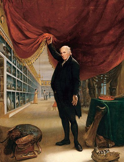 The Artist in His Museum, Charles Willson Peale, 1822