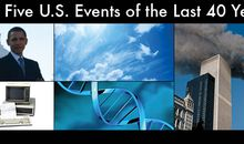 Top Five U.S. Events of the Last 40 Years