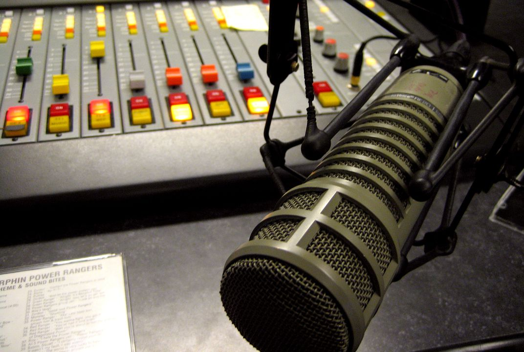 This radio station broadcasts all over the world, but only at breakfast time