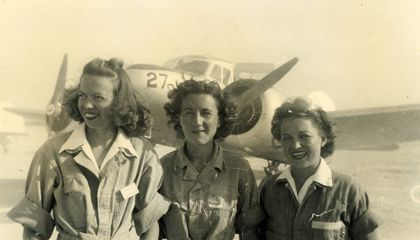 My Mother, the Bomber Pilot