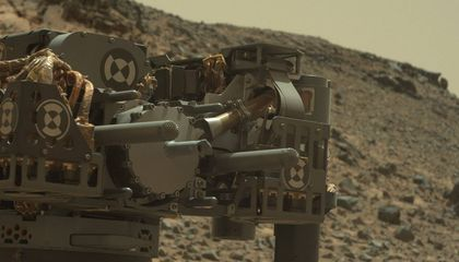 Mars Rover Is Out of Commission (For Now)