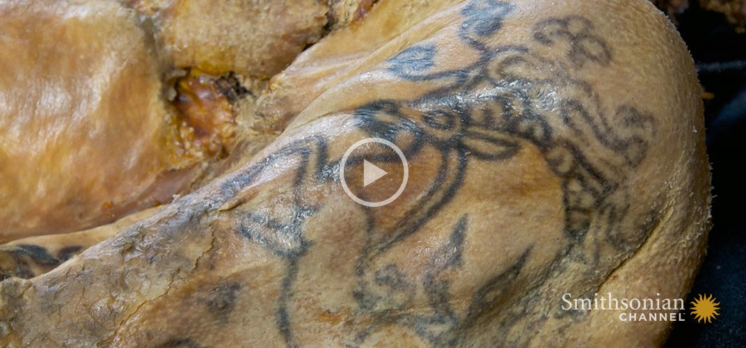 Caption: The Significance Behind Ancient Scythian Tattoos