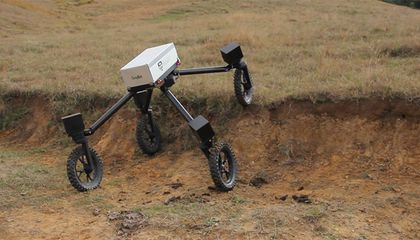 Meet SwagBot, the Robot Cowboy That Can Herd and Monitor Cattle On Its Own