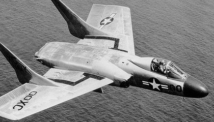 In the early jet age, pilots had good reason to fear the F7U
