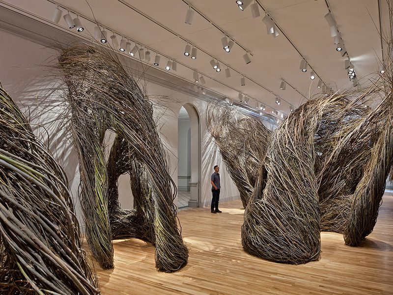 Shindig by Patrick Dougherty, 2015